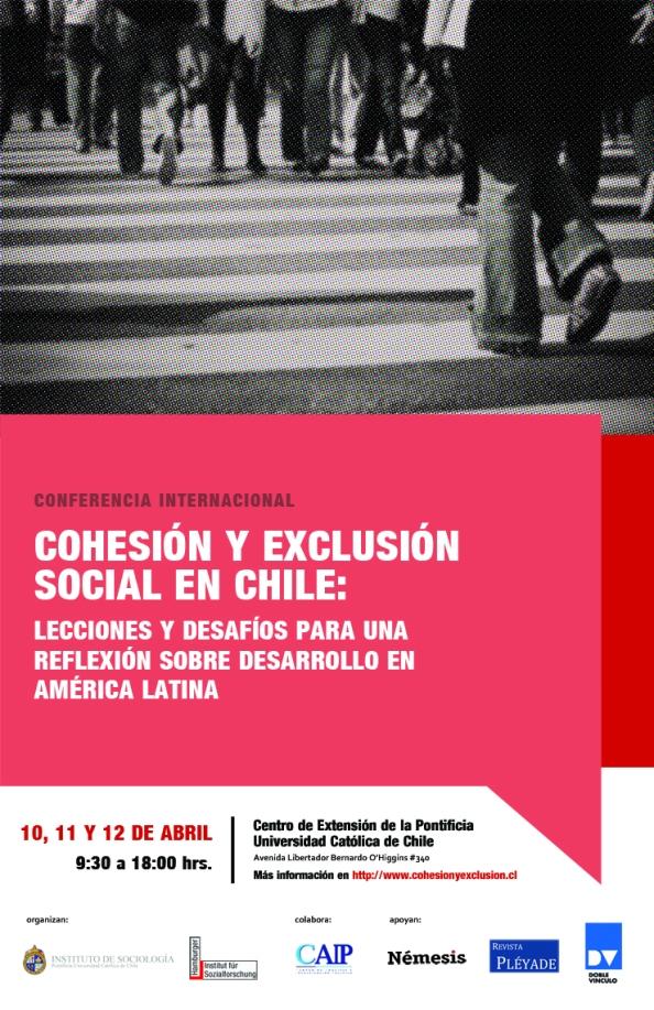 Conferencia Cohesión y Exclusión social en Chile