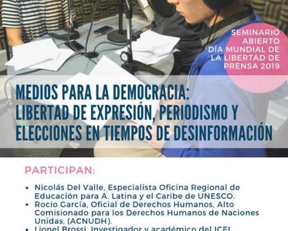 Día Mundial de la Libertad de Prensa2019